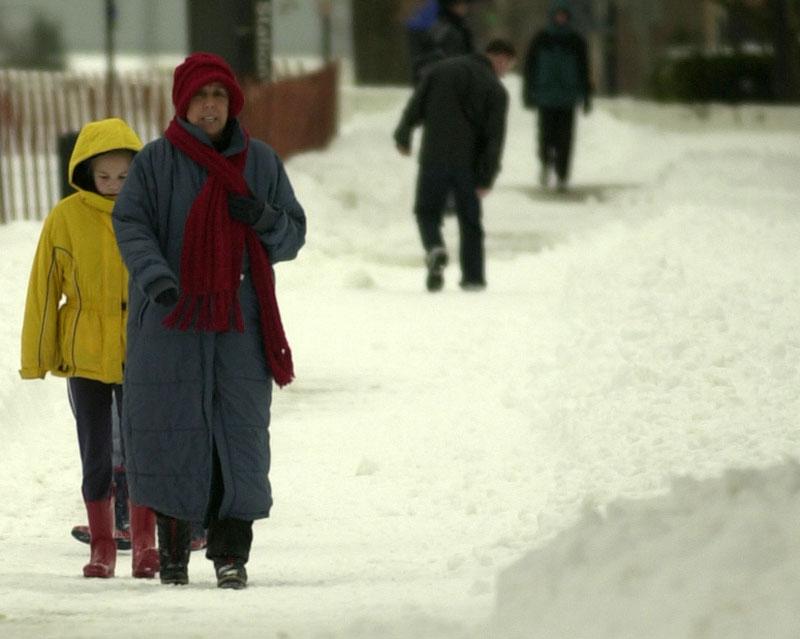 Washington can be a real snow job
